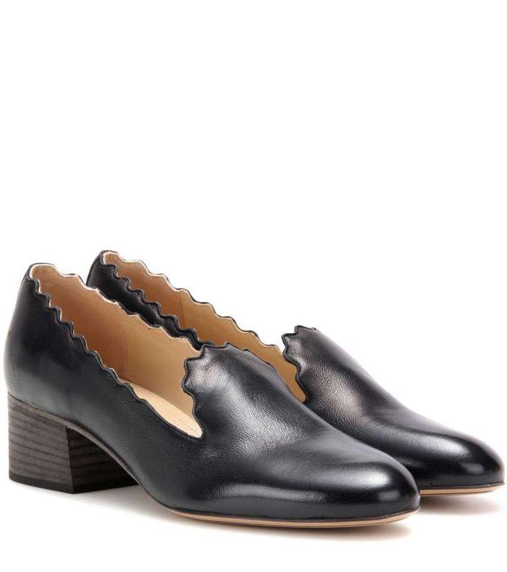 Collezione scarpe Chloè Autunno Inverno 2016-2017 - Mocassini neri Chloè