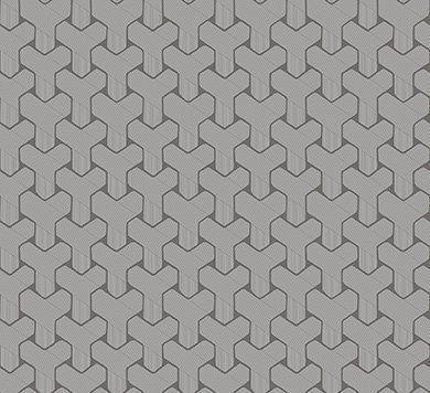 Обои с четкой геометрией рисунка 66533 Hookedonwalls