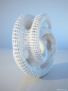 Ring #3dPrintedShapes