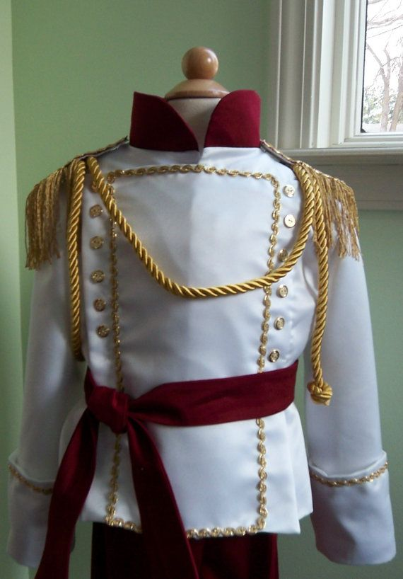 Stunning Boys Prince Costume Custom Made by correenscdesigns