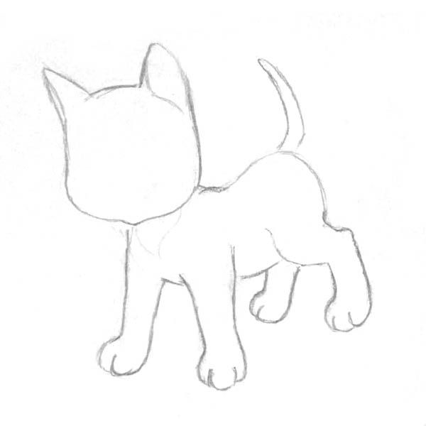 9 best dog drawings images on pinterest draw dog drawings and learn to draw a kitten in stages a pencil drawing lesson for beginners and school children ccuart Image collections