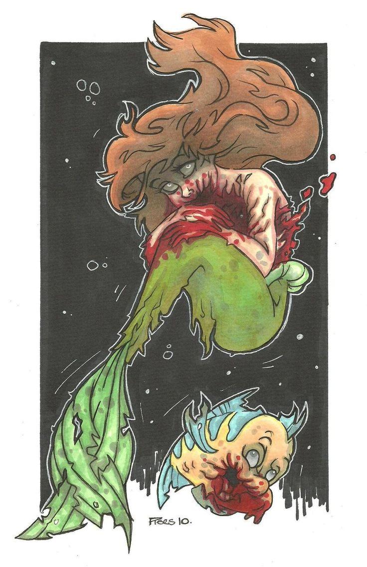 SEA DEVILS Disney of the Undead volume 2 by *leagueof1 on deviantART