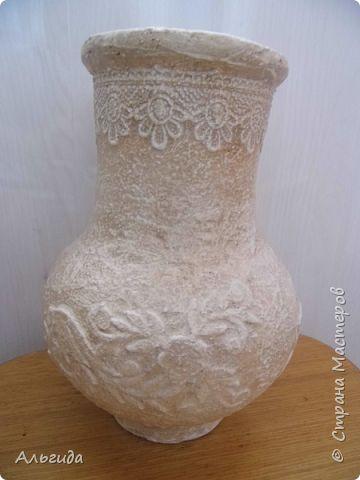 """Моя попытка в создание вазочки в технике """"каменное кружево"""" или """"сицилийское кружево"""". Вдохновили работы ОЛЕСЯ РЖЕУТСКАЯ,gyn,rudbekiya, спасибо им за это пребольшущие. фото 4"""