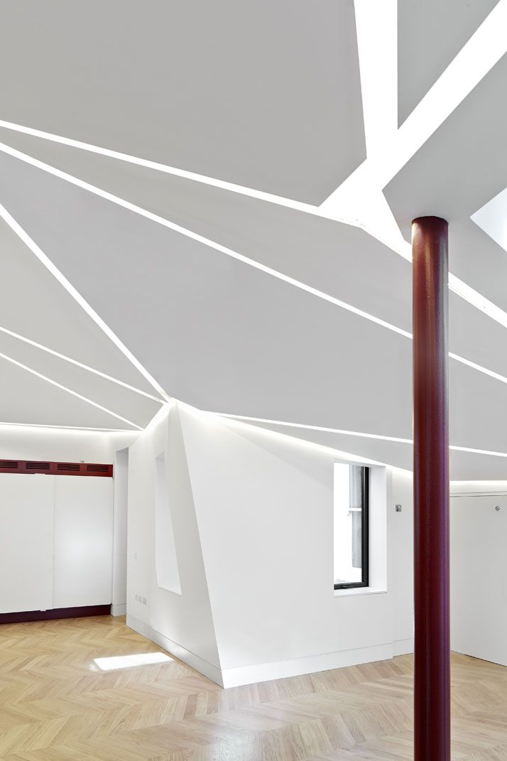 When A Copper Roof Steals The Show In A Working Environment... http://www.yatzer.com/great-james-street-emrys-architects photo © Alan Williams.