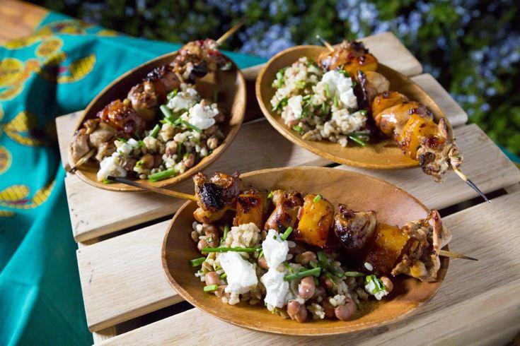 Chicken Espetadas - Sarah Graham Food