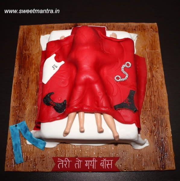 Pin By Sherin Felix On Bachelorette Bachelorette Cake Hen Party