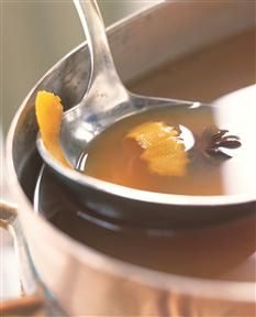 Hot Mulled Cider- perfect for a chilly autumn evening!