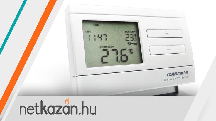Computherm Q7RF Q8RF - A termosztát programozása - Netkazán Webáruház
