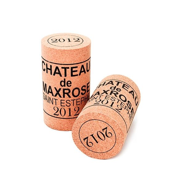 The Wine Journal - XL Wine Kork Skammel 'MaxRose'