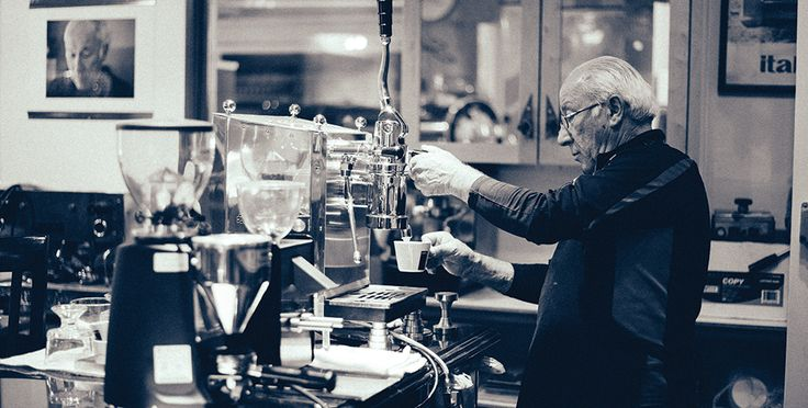 This man makes the world's coolest #espresso machines. He took us inside his shop and tought us how to make genuine Italian espresso of our own!