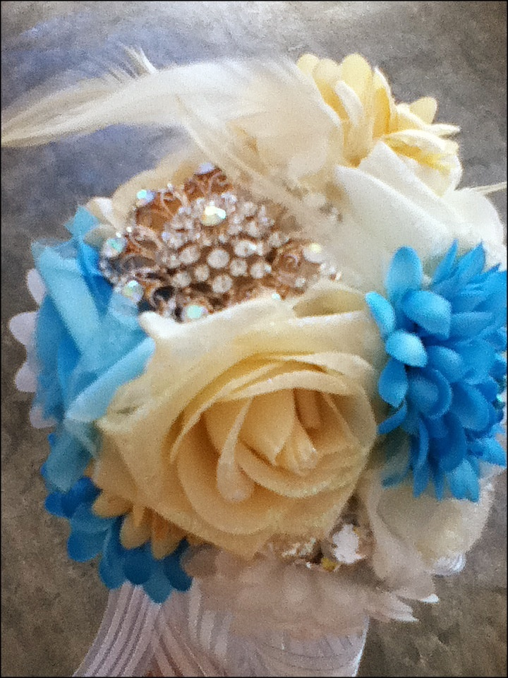 Homemade Wedding Bouquets Silk Flowers : Diy silk flowers wedding bouquet stuff