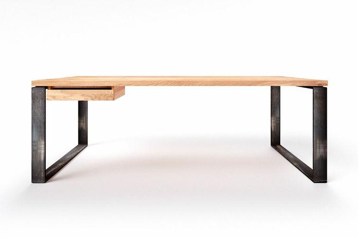 Massiver Eiche Schreibtisch Nach Mass Wohnsektion In 2021 Schreibtisch Eiche Massiv Eiche Massiv Mobelideen
