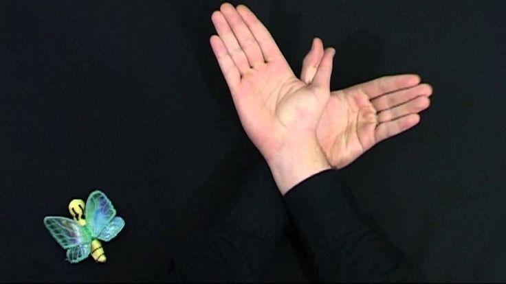 Juegos de manos - Mariposas