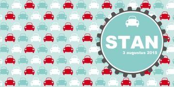 geboortekaartje auto kever met cirkel  | birth announcement cars | MEISenMANNEKE |  Een stoer geboortekaartje met kever autootjes. Kleuren zijn zelf naar wens aan te passen.