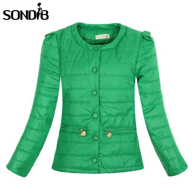 4 Colors Warm Winter Jacket Women 2017 New Fashion Slim Thin O-neck Ladies Parkas Coat Overcoat Plus Size XXL