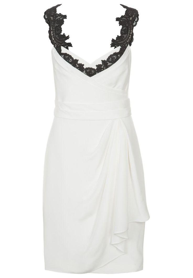 Marchesa Notte - Cocktailkleid / festliches Kleid - ivory
