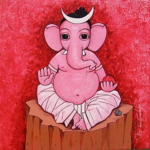 Buy and Sell Paintings Online | Indian Artists Art Gallery Online | Contemporary Paintings - mojarto.com. suresh gulage