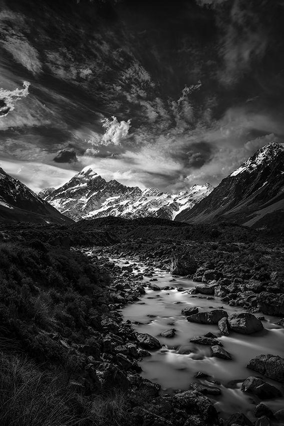 Aoraki Mount Cook Hooker Valley New Zealand