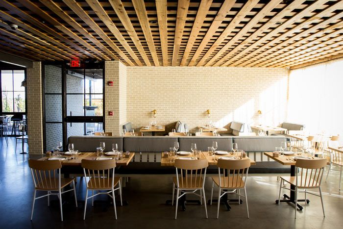 Treadsack International opened Bernadine's, the other half of its joint venture with Hunky Dory, in Houston Heights in January. The Southern, Gulf Coast-inspired seafood concept features a raw bar and offers dishes like fried oyster salad, grilled Gulf fish, and marinated blue crab claws. The restaurant also has an extensive cocktail menu, with offering such as mint juleps and Coke and peanut highballs.