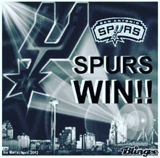 SPURS WIN SPURS WIN!!!! #keepcalm & #goSpurrsGo  #Gameday #Spurs #rockets #sanantonio #satx #houston #SanAntonioSpurs #houstonRockets #htown ##khwai #theBeard #JamesHarden #GSG