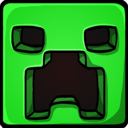 Free miecraft SVG Files | Creeper icon