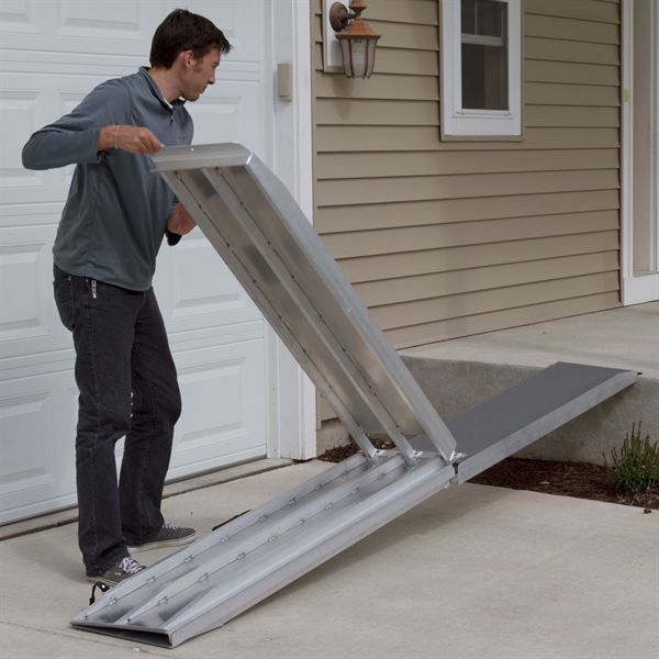 Best 25 Aluminum Wheelchair Ramps Ideas On Pinterest