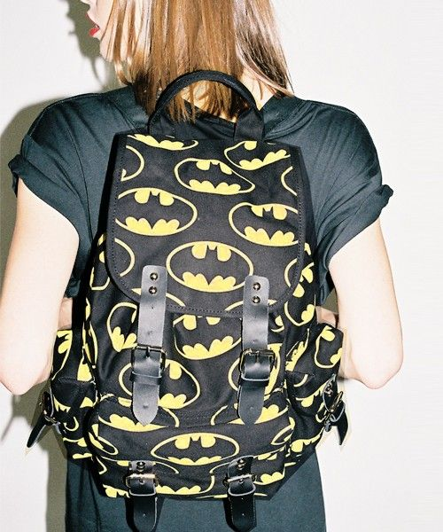 Batman Clothing Collection by Lazy Oaf. Who does this remind you of?! ;)