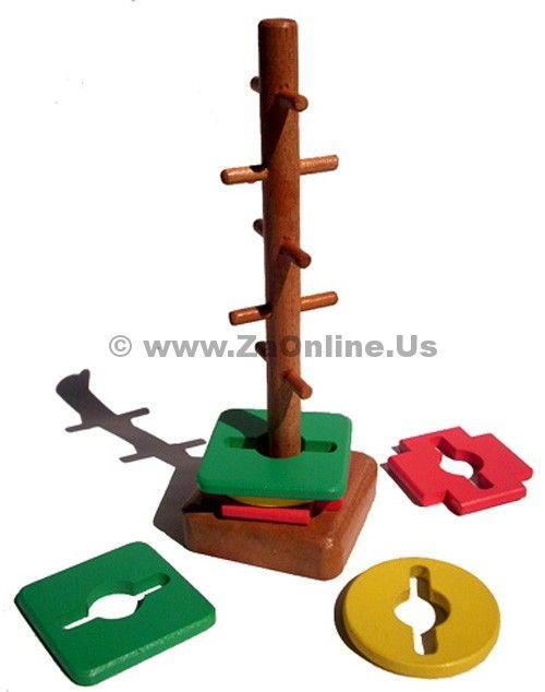 Jual Mainan Edukasi Menara Kunci | Order 085643605261