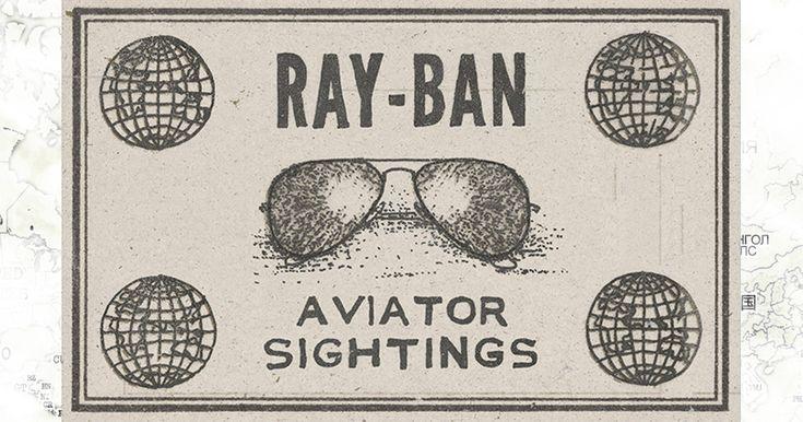 #AviatorSightings est partout! Photographiez la forme Aviator et partagez-la sur Instagram. Campagnes sociales Never Hide sur le site officiel Ray-Ban.