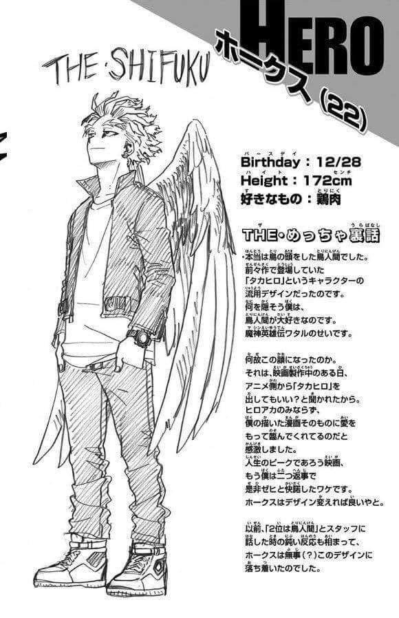 Hawks Bnha My Hero Academia Hero Boku No Hero Academia