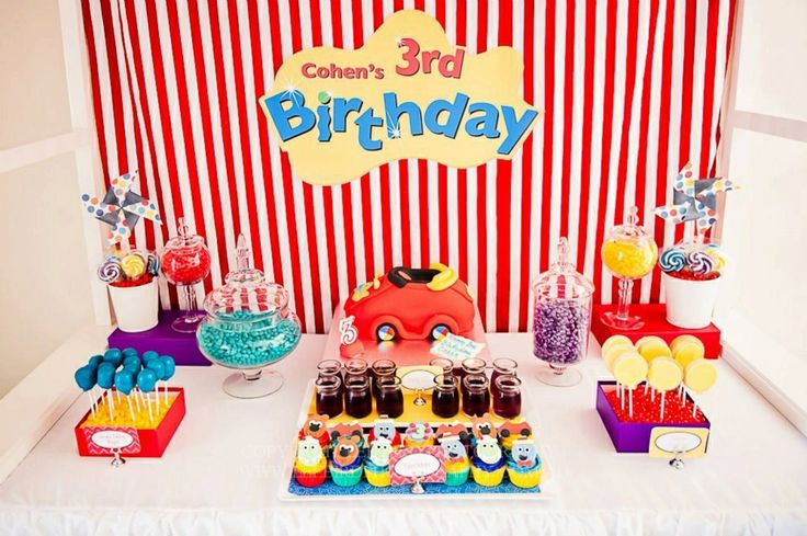 Wiggles - party styling - pic sourced from Facebook
