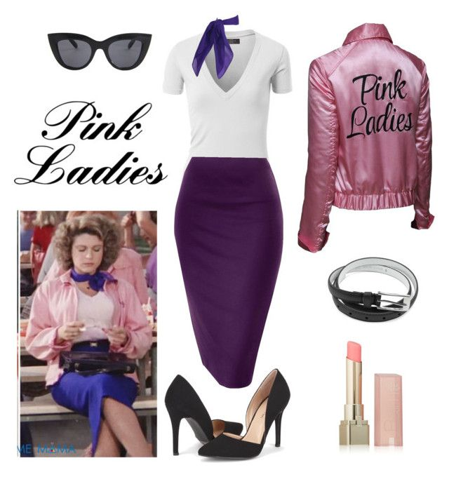 """Pink Ladies - Grease - Marty"" by itsafabulouslife ❤ liked on Polyvore featuring L'Oréal Paris"