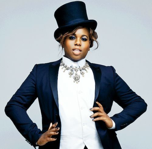 Alex Newell — I love Alex's gender-bending style.