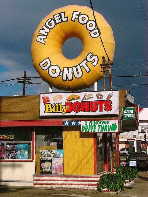 Angel Food Donuts... Long Beach, California