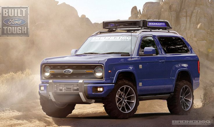 2020 Bronco concept from Bronco 6G. Fuses first gen Bronco with the concept unit that came out around 2004. Please make this. Please. Pretty please??? Don't make me beg. I want one now!!