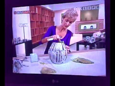 ▶ Artesanato - Vaso de filtro café usado - YouTube
