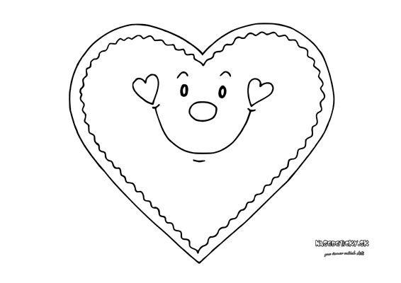Srdiečko na pršteky - Aktivity pre deti, pracovné listy, online testy a iné
