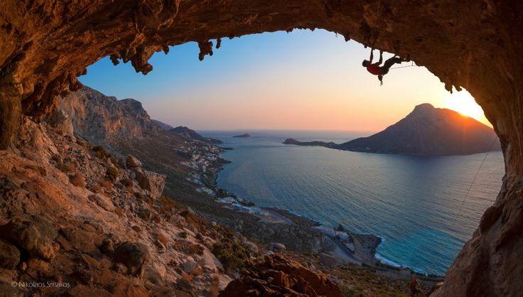 Kalymnos Climbing School: Greek Island rock climbing holidays image by Nikolaos Smalios