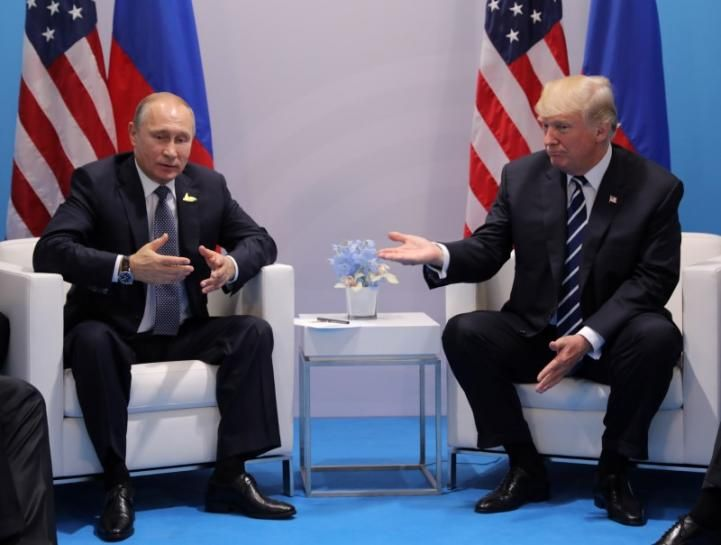 """The Kremlin believes it is """"absolutely absurd"""" to describe an informal meeting at the G20 summit between U.S. President Donald Trump and Russian President Vladimir Putin as secret or undisclosed, Russian news agencies reported on Thursday."""