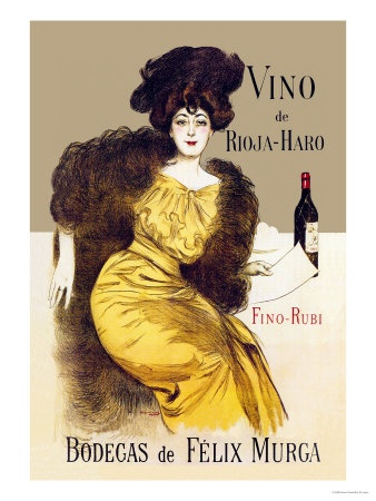 Vino de Rioja-Haro Print by Ramon Casas - AllPosters.co.uk