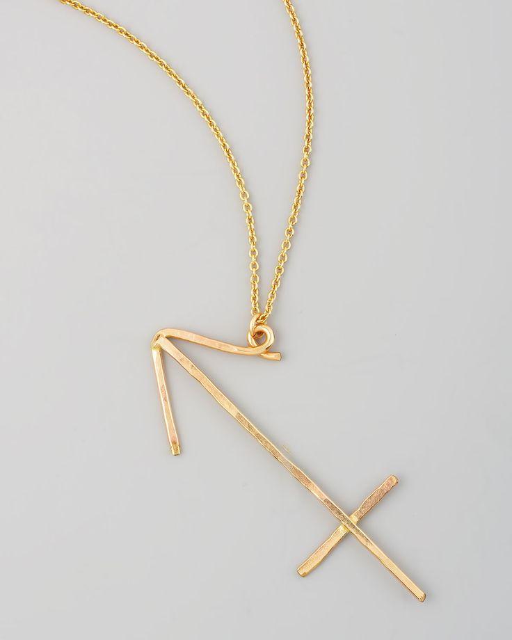 sagittarius zodiac pendant necklace sagittarius zodiac