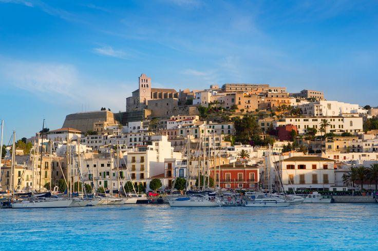 Old town Ibiza