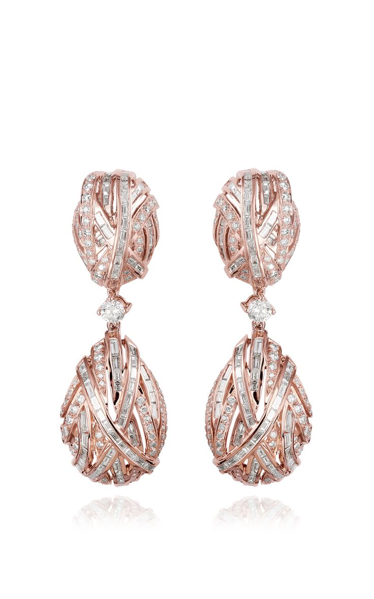 The Earring Of Eternity by Farah Khan Fine Jewelry for Preorder on Moda Operandi
