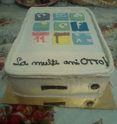 Tort si prajituri Andrea : Tort telefon mobil