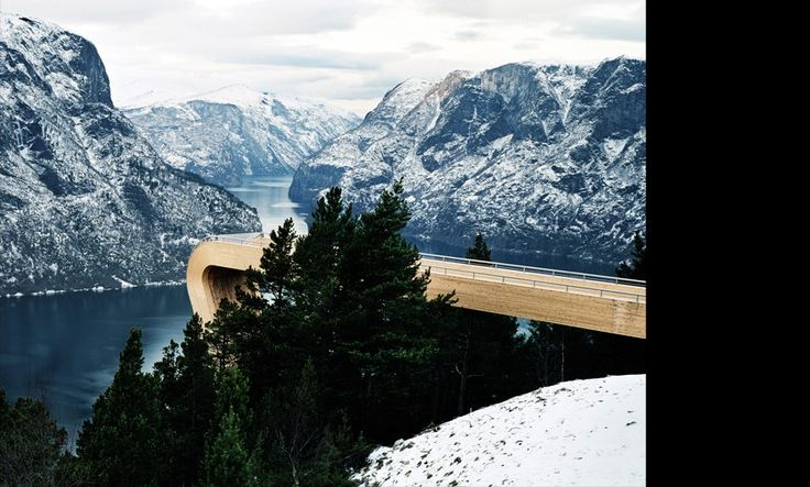 Aurland Lookout by Todd Saunders and Tommie Wilhelmsen