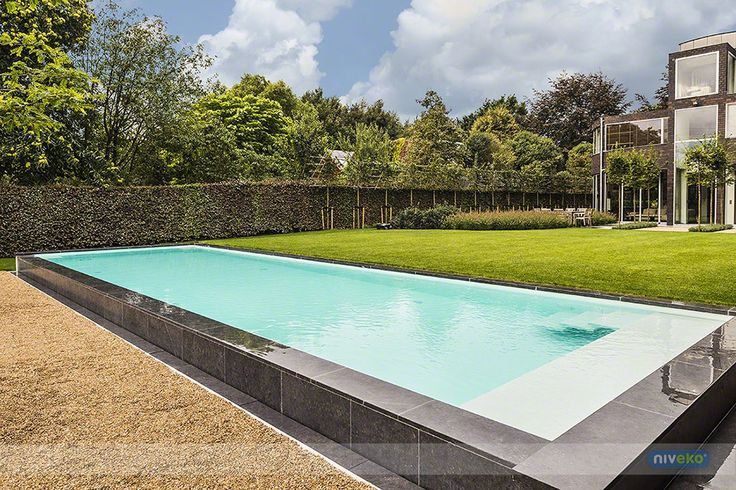 NIVEKO ENDLESS » niveko-pools.com  » niveko-pools.com #lifestyle #design #health #summer #relaxation #architecture #pooldesign #gardendesign #pool #swimmingpool #pools #swimmingpools #niveko #nivekopools