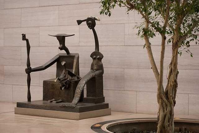Αιγόκερως (1948-64) Μπρούτζος  Εθνική Πινακοθήκη Ουάσιγκτον DC