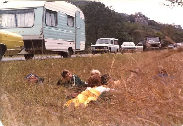 Children taking cover during an attack on convoy. I remember traveling in the convoys