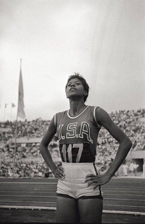 Inspiring Woman: Wilma Rudolph, Athlete (1940-1994) Because in 1960 she was the first American woman to win three gold medals in a single Olympics.