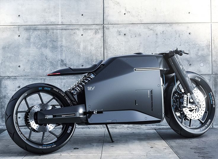 dubbed the 'samurai', this futuristic concept depicts what the future of motorcycles might hold.